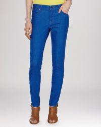 Karen Millen Jeans - Skinny In Blue blue - Lyst