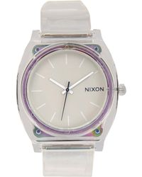 Nixon Purple Wrist Watch - Lyst