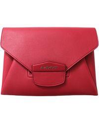 Givenchy Antigona Medium Envelope red - Lyst