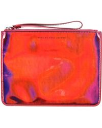 Marc By Marc Jacobs Pouch purple - Lyst