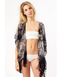 Bikini.com - Branch Kimono - Lyst