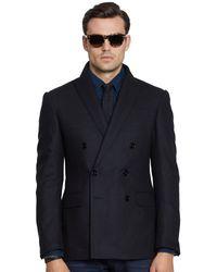 Ralph Lauren Black Label Flannel Anthony Sport Coat - Lyst