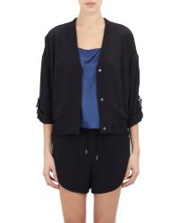 Helmut Lang Roll-Up Sleeve Jacket - Lyst