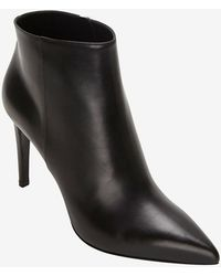 Sergio Rossi Clean Pointy Toe Bootie Black - Lyst