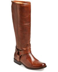 Frye 'Phillip Harness' Tall Boot - Lyst