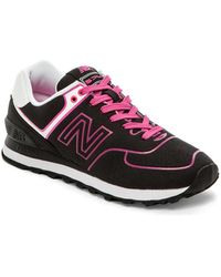 New Balance Neon Collection Wl574nen - Lyst