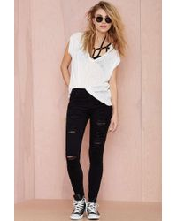 Nasty Gal A Gold E Sophie Skinny Jean - Lyst