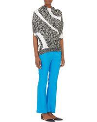 3.1 Phillip Lim Wavy-stripe Cocoon Sweater - Lyst