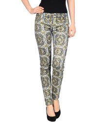 7 For All Mankind Casual Trouser - Lyst