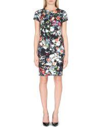 McQ by Alexander McQueen Floral-Print Jersey Dress - For Women - Lyst