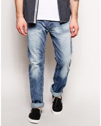 Diesel Jeans Safado 826D Straight Fit - Lyst