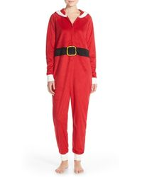 Cozy Zoe | Plush Santa Claus One-piece | Lyst