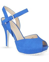 Nine West Ratical Heeled Sandals - For Women - Lyst