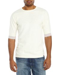 Garbstore Ivory Coach T-Shirt - Lyst