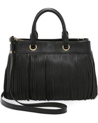 MILLY - Essex Fringe Tote - Lyst