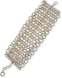 R.j. Graziano - Mtte Chain Flatline Bracelet - Lyst