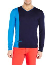 Love Moschino Two-Tone Sweater - Lyst