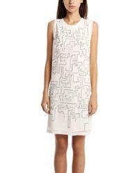 3.1 Phillip Lim Sleeveless Dress Maze Embroidered - Lyst