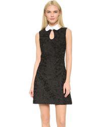 JILL Jill Stuart Embroidered Sheath Dress - Black