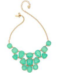 Kate Spade Vegas Jewels Statement Necklace - Pool Blue - Lyst