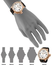 Tw Steel Canteen Automatic Rose-gold Stainless Steel Watch - Lyst