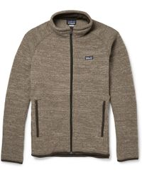 Patagonia Better Lightweight Fleece Sweater in Gray for Men | Lyst