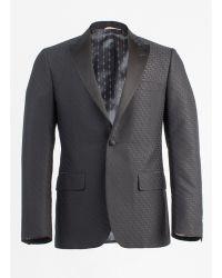 Billy Reid Fox Jacquard Tuxedo Jacket - Lyst