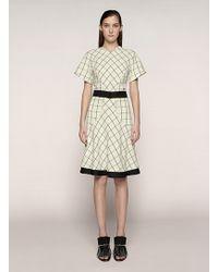 Proenza Schouler Short Sleeve A-Line Dress - Lyst