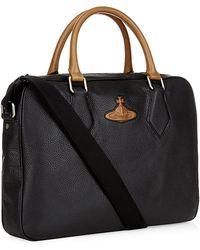 Vivienne Westwood - Contrast Orb Laptop Bag - Lyst