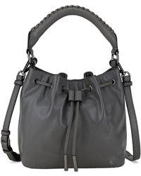 Elliott Lucca   Gigi Leather Drawstring Bucket Bag   Lyst