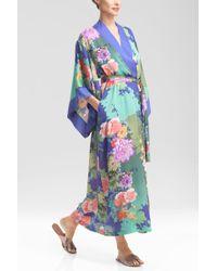 Natori Tahiti Robe multicolor - Lyst