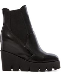 Ash Black Red Boot - Lyst