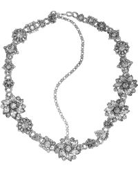 Erickson Beamon - Ice Age Silverplated Swarovski Crystal Headpiece - Lyst