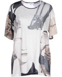 Carven T-Shirt white - Lyst