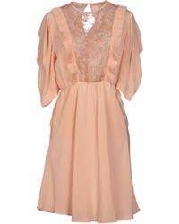 Miu Miu Short Dress - Lyst