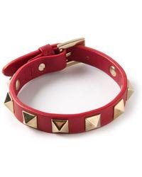 Valentino Rockstud Bracelet - Lyst