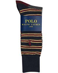 Polo Ralph Lauren Striped Sock Set - Lyst
