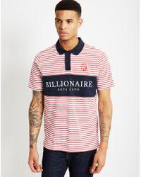 Billionaire Boys Club - Ice Cream   Monaco Polo Shirt Red Stripe   Lyst