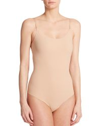 Commando Thong Bodysuit - Lyst