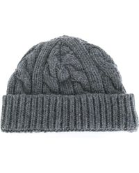 Oliver Spencer   Cable Knit Beanie   Lyst