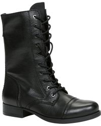Aldo Brooklyn Round Toe Lace Up Boots - Lyst