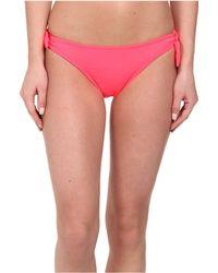 Shoshanna Pink Bow Bottom - Lyst