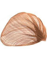 Ann Demeulemeester Cinnamon Woven Veil Hat - Lyst