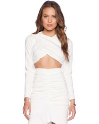 Tiger Mist - The Lover Crop Top - Lyst