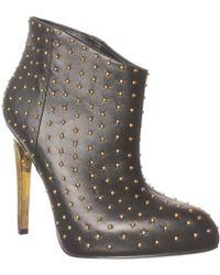 Boutique 9 - Platform Booties Faustine Studded High Heel - Lyst