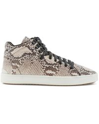 Rag & Bone Kent High Top Sneaker animal - Lyst