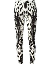 Giambattista Valli 'Seven' Leopard Print Jeans - Lyst