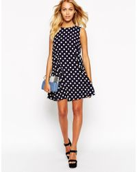Love Polka Dot Shift Dress - Lyst