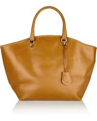 Vanessa Bruno Large Leather Tote - Lyst