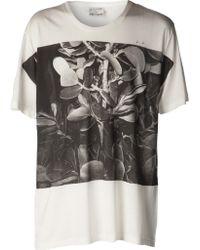 One T Shirt - Cactus-print Jersey T-shirt - Lyst